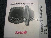 FORD DUALCONE Lautsprecher 2X40W CLARION 3.02 NEU