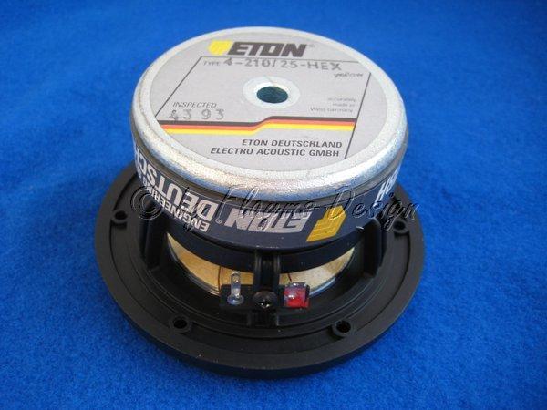 4-210/25HEX Mitteltöner / Tieftöner10cm ETON