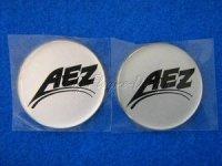 Felgen Mittenembleme Selbstklebend AEZ (2) Aufkleber für Nabendeckel und Felgendeckel *Restposten