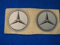 Felgen Mittenembleme Selbstklebend Mercedes (2) Aufkleber für Nabendeckel u Felgendeckel *Restposten