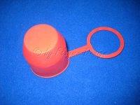Schutzkappe für Anhängevorrichtung Kunststoff rot