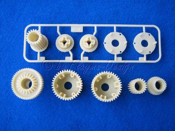 G-TEILE Getriebe Satz zu TL-01 TAMIYA Ersatzgetriebe