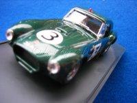 Cobra Grün1:43 Le Mans 63 von Bang
