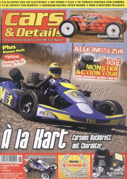Cars & Details Fachzeitschrift Ausgabe 5/2009 NEU