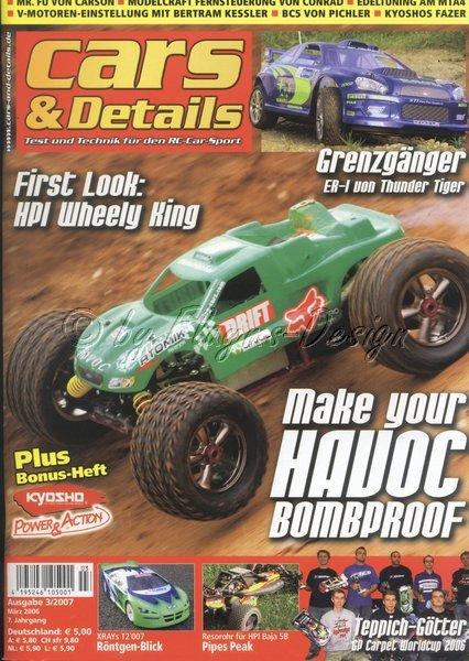 Cars&Details Fachzeitschrift Ausgabe 3/2007 NEU