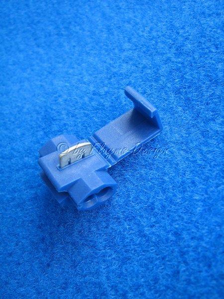 Abzweigverbinder (Japaner) blau für 1,5-2,5 qmm Kabel