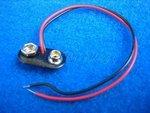 Druckknopfanschluss mit Kabel für 9V Batterie-Clip