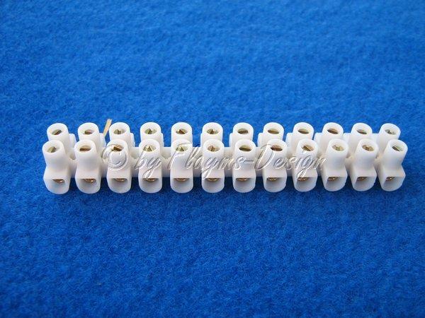 Lüsterklemme 2,5mm 12 Stück