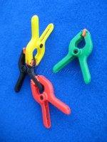 Spannzwingen Nylon  2 1/4 Pit Bull 4 Stk Farben gemischt