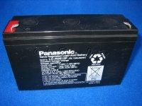 6V Bleiakku 12AH LC-R0612P Panasonic Pb 6V 12000mAh
