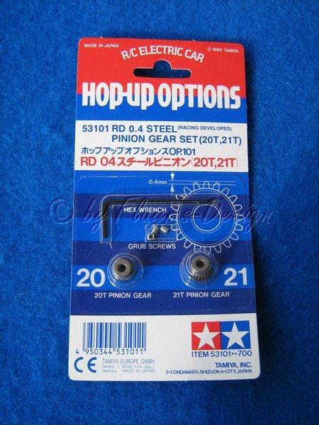 Motorritzel 20/21 Zähne Modul 0,4 zu Tamiya F1 *Japan Import