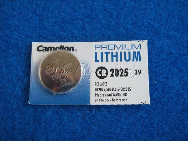 CR2025 Lithium Rechner Knopfzelle
