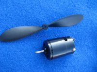 Schubmotor mit Propeller zu Dragstair Hovercraft Ikarus