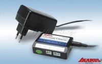 Li-Po Lader 230V für 2-3 Z. mit Balancer Lader +...