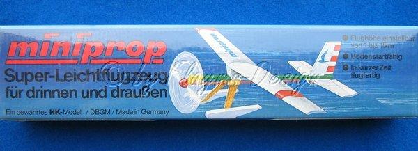 Super Leichtflugmodell IN & OUTDOOR GEEIGNET miniprop