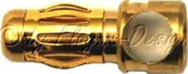 3,5mm Goldstecker Akku-Steckverbindung
