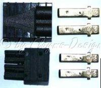 TRX Stecker TRX Buchsen Set schwarz