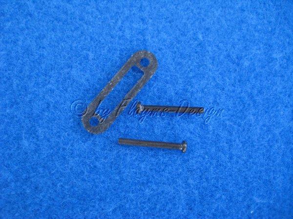Krümmer Innensechskantschrauben M2,6 x 22mm mit Dichtung