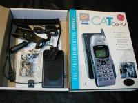 Telefon Freisprechanlage CAT CARKIT f. SIEMENS S25 MORE
