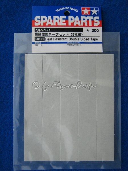 Klebeband doppelseitig (5) Heat Resistant Double Sided Tape 50171 Tamiya