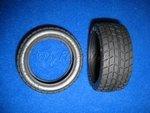 Reifen Radial Niederquerschnitt 1:10 26mm Tamiya 50419