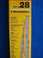 Scheibenwischblätter für Alfa, BMW 5er, Honda, Lancia SWF 117228