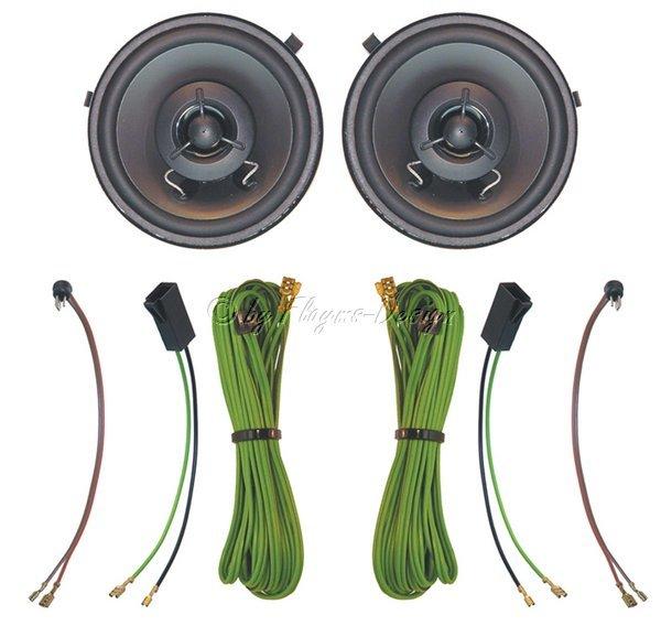 Einbau - Lautsprechersatz DIN100 Universal 2-WEGE AIV
