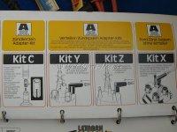 Adapter-Kit C für Zündkabel (6)
