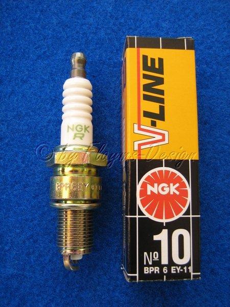 NGK V-LINE Nr. 10 BPR6EY-11 Zündkerze NEU