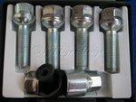 Felgenschloss B 47 M12X1,5 40mm Kugelbundschrauben Set