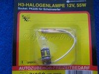 Autobirne H3 12V 55W P22S AROSO