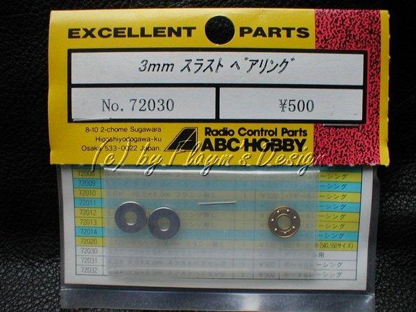 Präzisions Drucklagersatz Differential ABC 72030  NEU