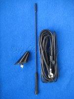 Universal Dachantenne 16-V 52Grad Autoradioantenne mit Kabelsatz AIV