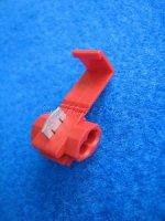 Abzweigverbinder  (Japaner) rot für 0,75 - 1,5 qmm Kabel