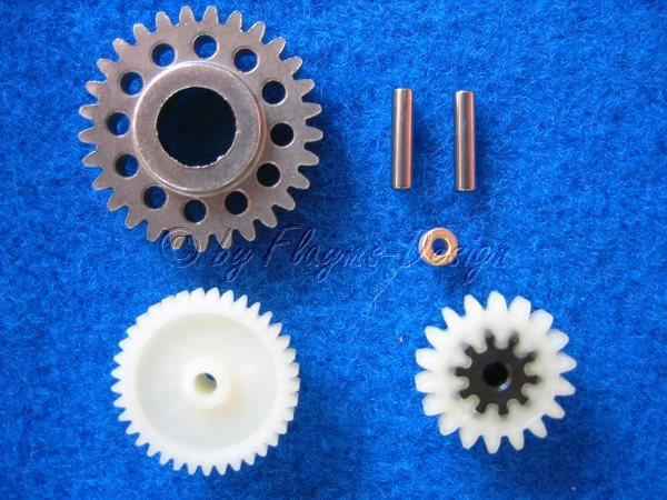 Getrieberäder für Elektro Starter T-Maxx TRAXXAS 4576