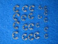 Sicherungsringe E-Ring Set für 1:5 / 1:6 Gröschel