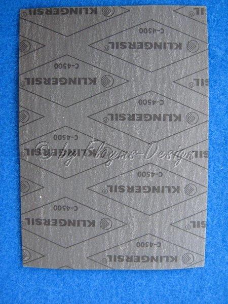 Dichtungspapier OILIT -400°C 0,5mm dick, asbestfrei
