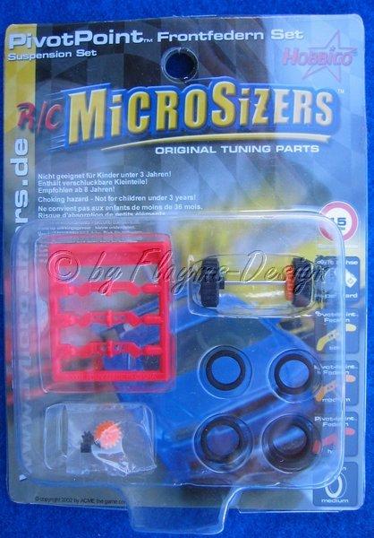 Federnsatz Driftachse Reifen Ritzel Zahnrad MicroSizers
