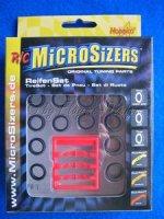 Reifen Set MicroSizers 6Tec TireSet Tuning Parts Federn