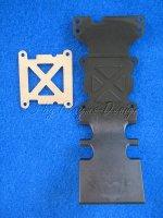 Unterbodenschutz hinten Skidplatte zu T-E-Maxx Traxxas