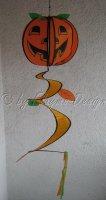 Pumpkin Spirale Halloween Kürbis Durchmesser 25cm...
