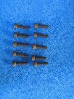 Zylinderkopfschrauben mit Innensechskant (10) M3 X 16mm Krick 51413