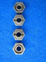 Metall sechskant Radmitnehmer 12mm (4) Krick FF079 Krick 611790