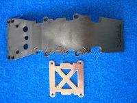 Unterbodenschutz vorne Skidplatte zu T-E-Maxx Traxxas