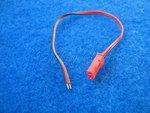 BEC Stecker mit Kabel zum anlöten oder klemmen
