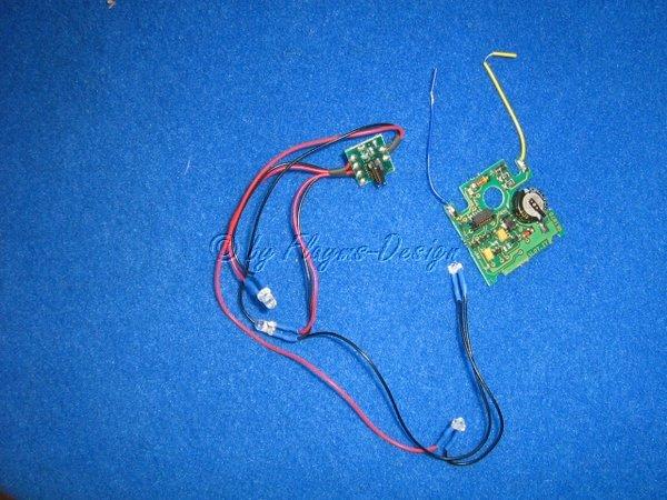 Fahrzeuglicht Set Electronic inkl. Bremslicht SP06