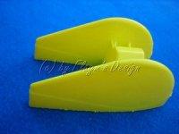 Radverkleidung gelb für Slow - Fun - und Park Flyer STO