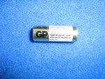 Batterie A23 SC23 12V 38mAh Alkaline Super P für...