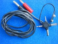 Ladekabel Universal mit Kreuzstecker + 9V Anschluss Carson 13629