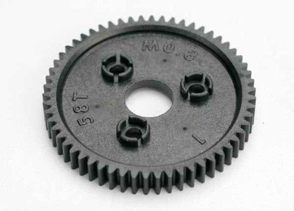 Hauptzahnrad 3958 58T Modul 0,8mm für Traxxas T-Maxx